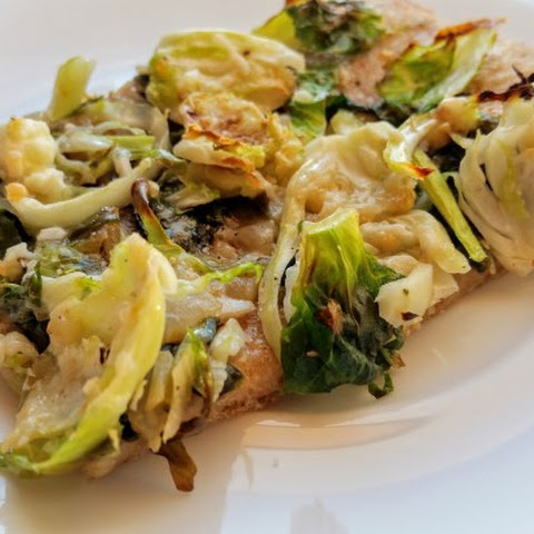 Brussels Sprouts Flatbread Pizza