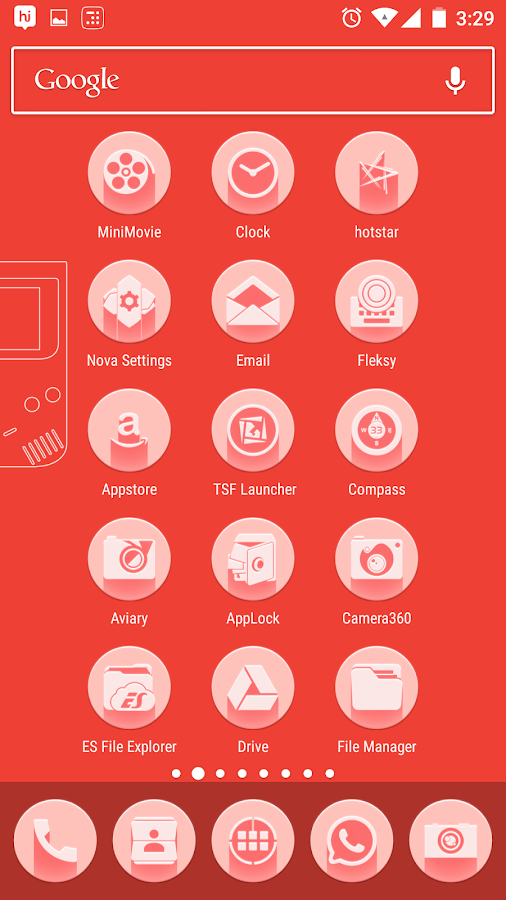 Pink Multilauncher Icon Pack Screenshot 2