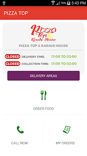 PIZZA TOP & KARAHI HOUSE - screenshot