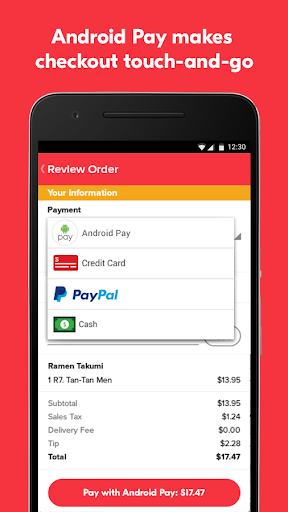Grubhub Food Delivery/Takeout For PC