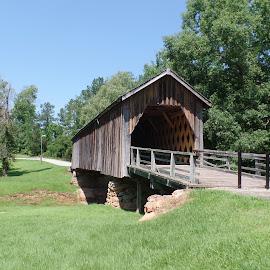 Auchumpkee Creek Bridge by Michele Shepherd - Buildings & Architecture Decaying & Abandoned