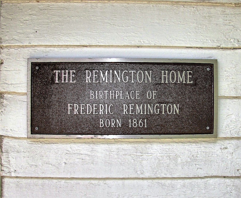 The Remington Home Birthplace of Frederic Remington Born 1861 Submitted by Alan R Reno