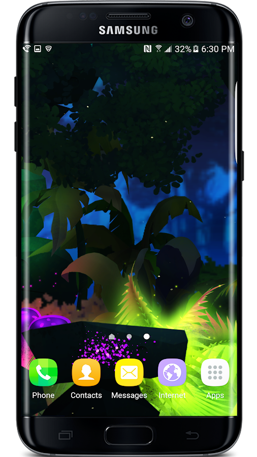 Firefly Jungle Live Wallpaper Screenshot 2