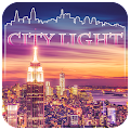 City light CM Locker Theme APK for Bluestacks
