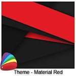 Theme - Material Red Icon