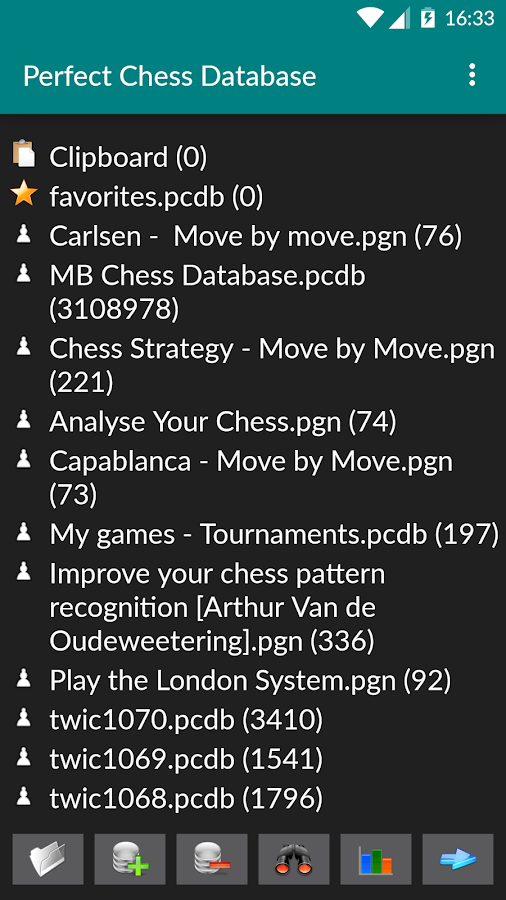 Perfect Chess Database Screenshot 0