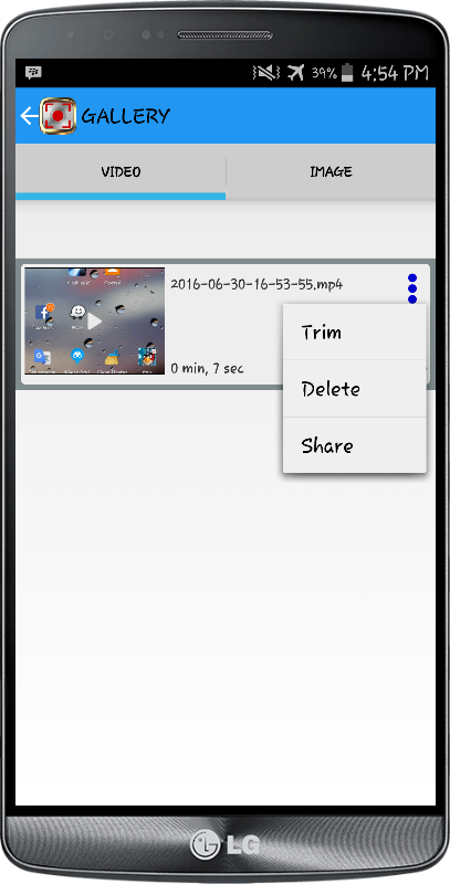 NO ROOT Screen Recorder PRO Screenshot 3