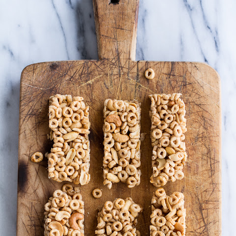 Honey Nut Cheerio Bars.