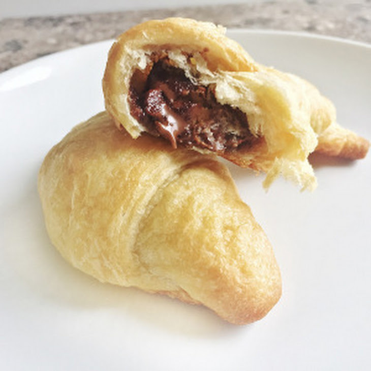 Peanut Butter Cup Croissants Recipe | Yummly