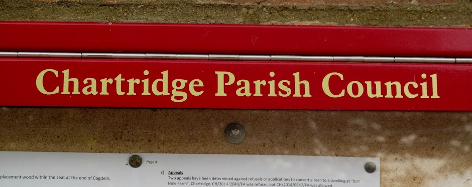 Chartridge Parish Council sign