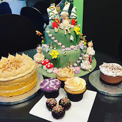 a selection of the amazing gluten free cakes