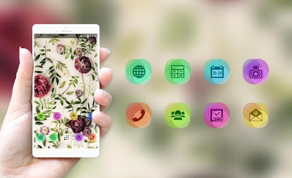 Flower Theme: Vintage Floral Live HD Wallpaper APK