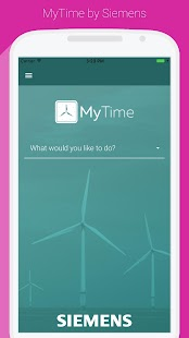 Siemens MyTime Business app for Android Preview 1