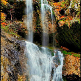 waterfall by Anže Papler - Landscapes Waterscapes (  )
