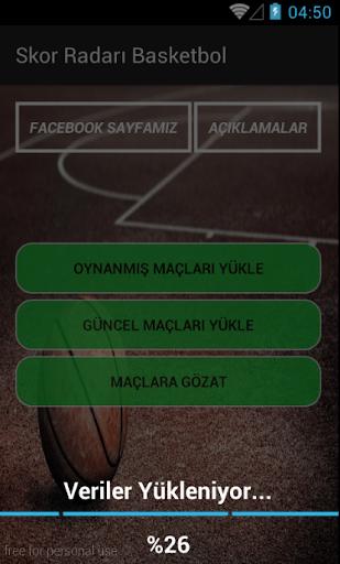 Skor Radarı - screenshot