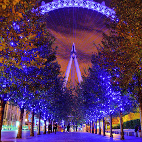 London Eye by Kyen Ang - Travel Locations Landmarks