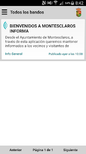Montesclaros Informa - screenshot