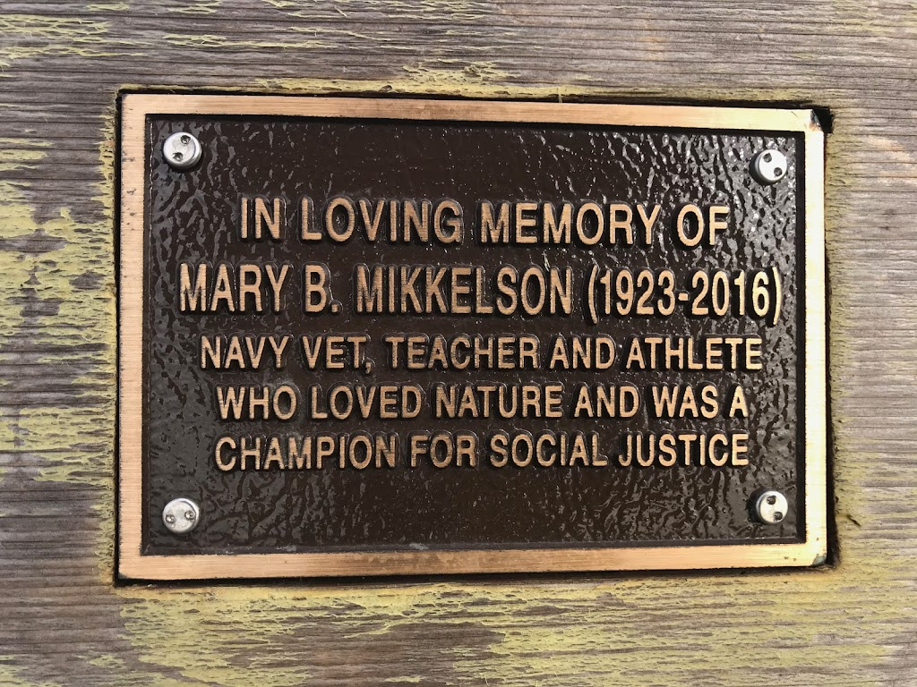 In loving memory of Mary B. Mikkelson (1923-2016)Navy vet, teacher, and athlete who loved nature and was a champion for social justice. ...
