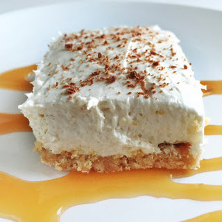 No Bake Cheesecake with Shortbread Cookie Crust