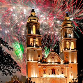 Christmas in Campeche by Alan Potter - Public Holidays Christmas