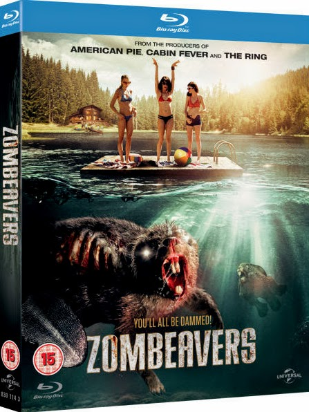 Filme Poster Zombeavers - Terror no Lago BDRip XviD Dual Audio & RMVB Dublado