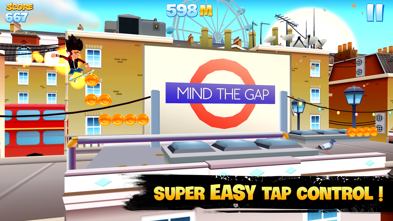 Skyline Skaters Screenshot 1