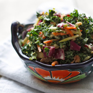Honey Dijon Chopped Kale Salad