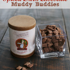 Spiced Dark Chocolate Muddy Buddies