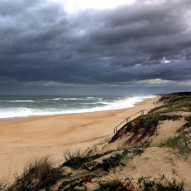 Winter time by Gil Reis - Landscapes Weather ( clouds, beaches, sky, nature, weather, places, portugal )