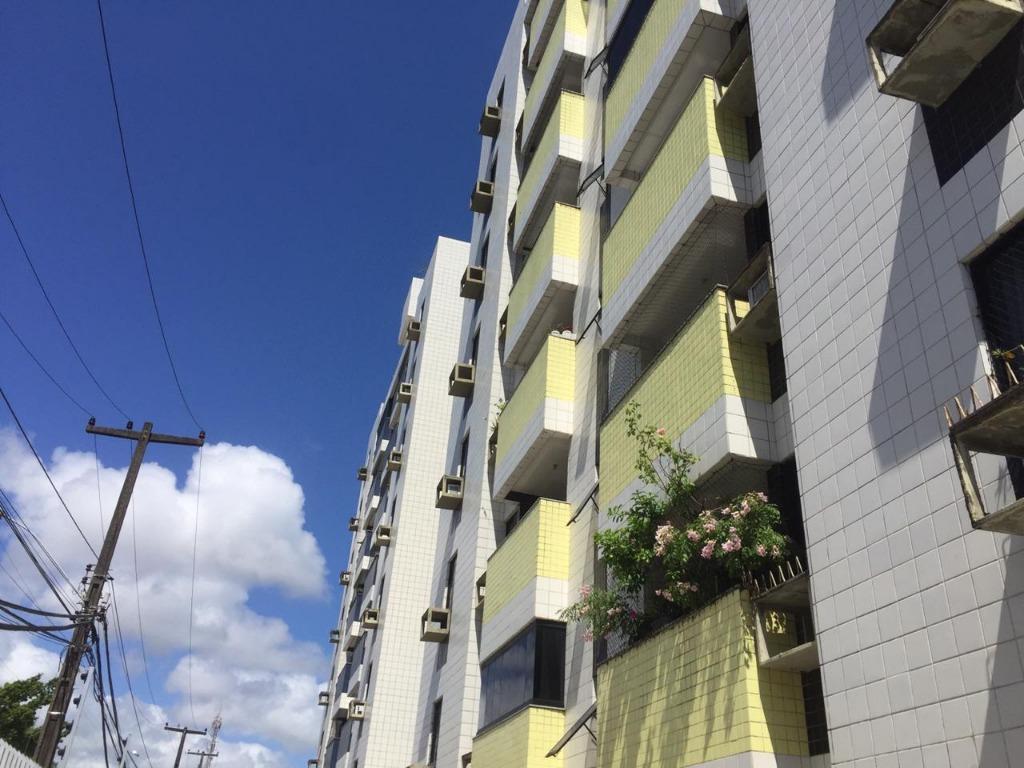Apartamento com 3 dormitórios para alugar, 86 m² por R$ 1.320/mês - Bessa - João Pessoa/PB