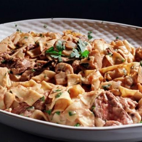 Quick and Easy Elk Stroganoff