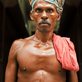 Hard Life by Sudharshun Gopalan - People Portraits of Men