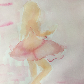 ballerina by Jeanne Knoch - Painting All Painting