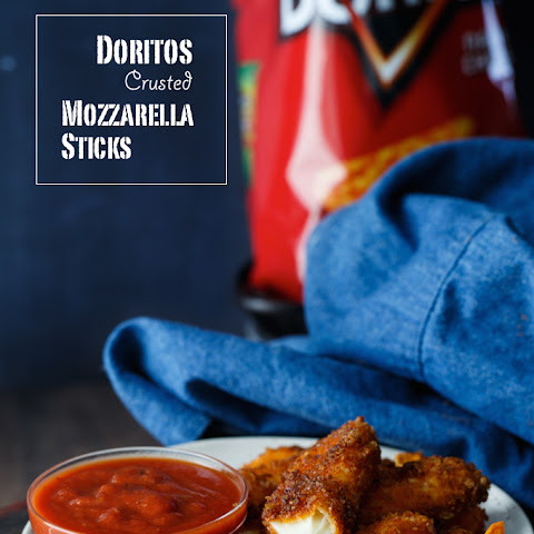 Doritos Crusted Mozzarella Sticks