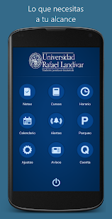 Universidad Rafael Landívar - screenshot