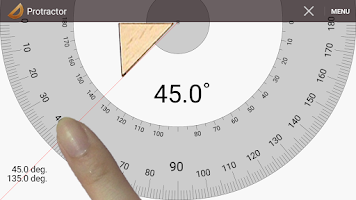 Screenshot of Smart Protractor