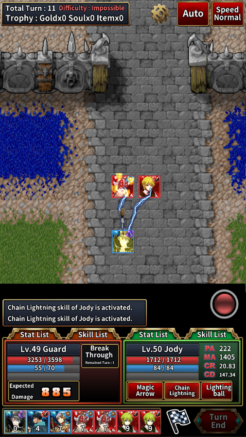 The First Tactics(SRPG) Screenshot 6