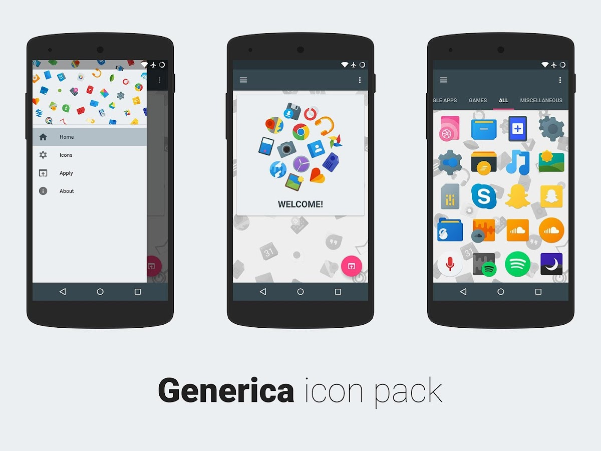 Generica icons EARLY PREVIEW Screenshot 2
