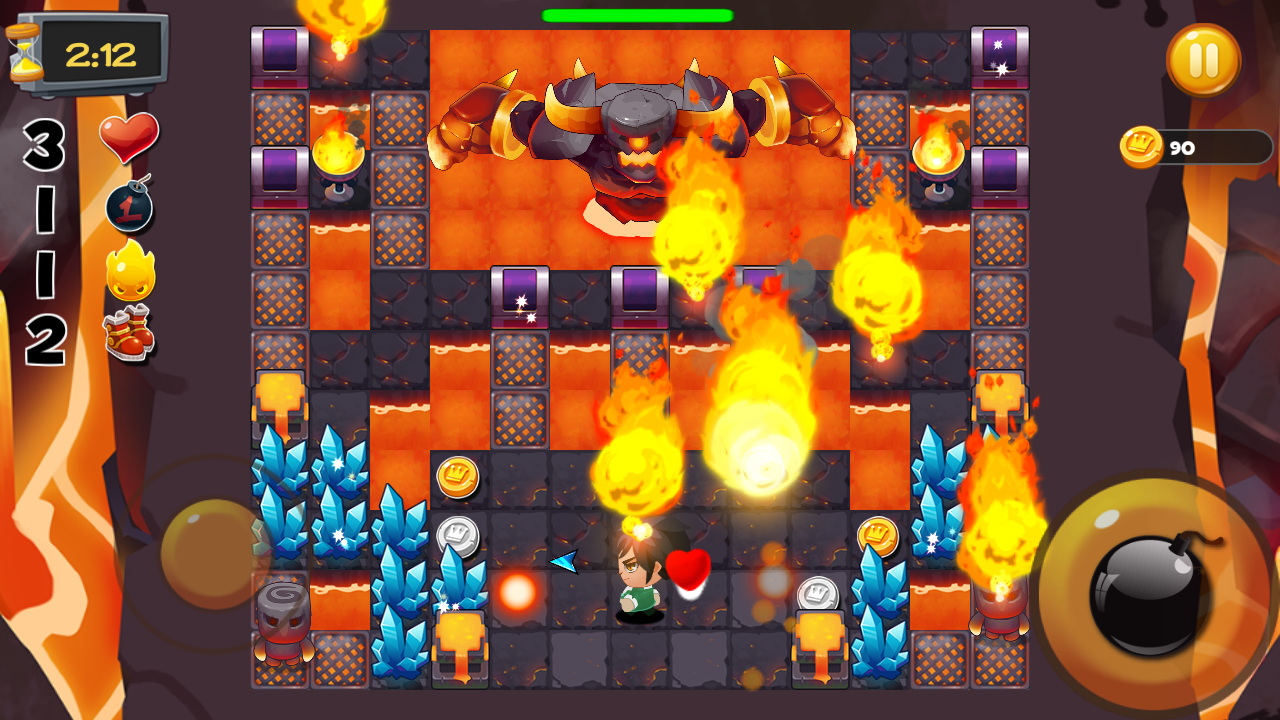 Bomber Heroes - Bomba game Screenshot 1