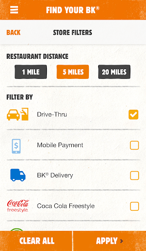 BURGER KING® App screenshot 5