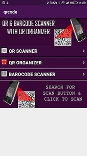 Qr code & barcode Scanner free - screenshot