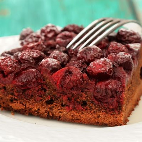 Classic Chocolate Cherry Cake