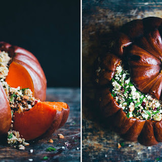 Holiday Stuffed Pumpkins