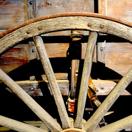 Wheel by Philippe Smith-Smith - Transportation Other ( old, wood, wheel, carriage, transportation )