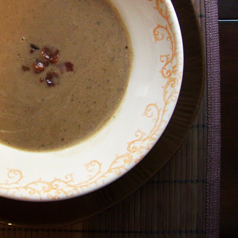 Chestnut, Bacon, and Green Apple Soup