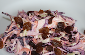 Red Cabbage Coleslaw Salad - By The London Hog Roast Company