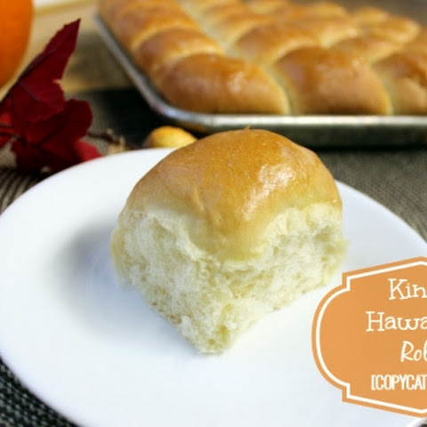 Kings Hawaiian Rolls Copycat