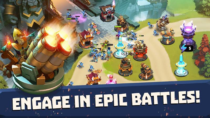 Castle Creeps TD - Epic tower defense Screenshot 0