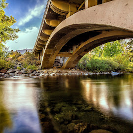 Truckee Crystal Peak Bridge by Lee Molof - Buildings & Architecture Bridges & Suspended Structures