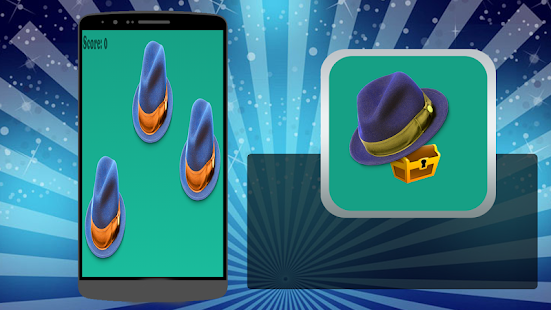 Treasure Remember hat game - screenshot